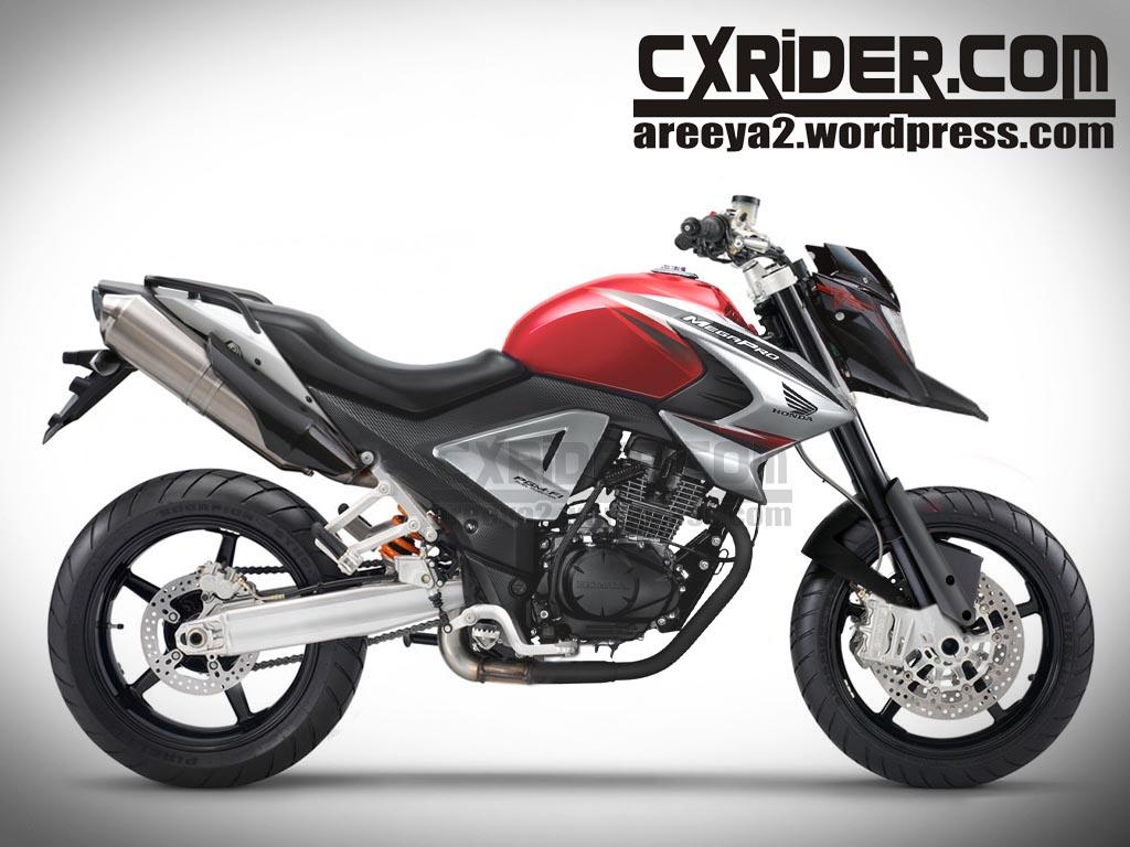 Modifikasi Motor Honda New Megapro 2013 | OTOMOTIF
