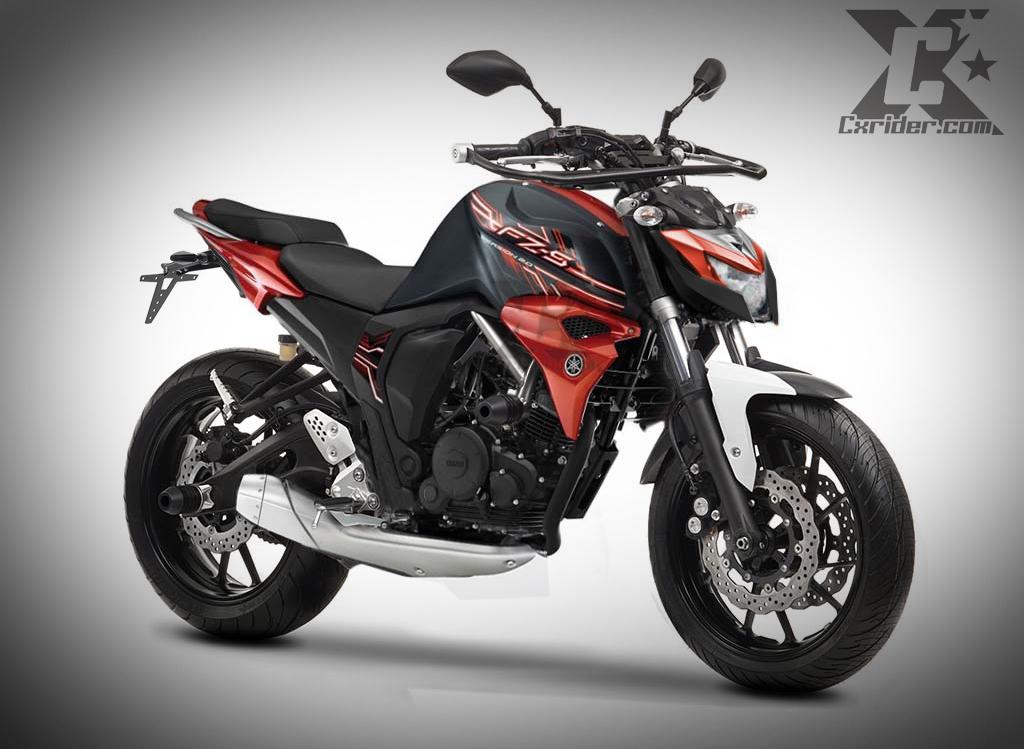 Konsep Modifikasi Yamaha Byson Fi Streetfighter