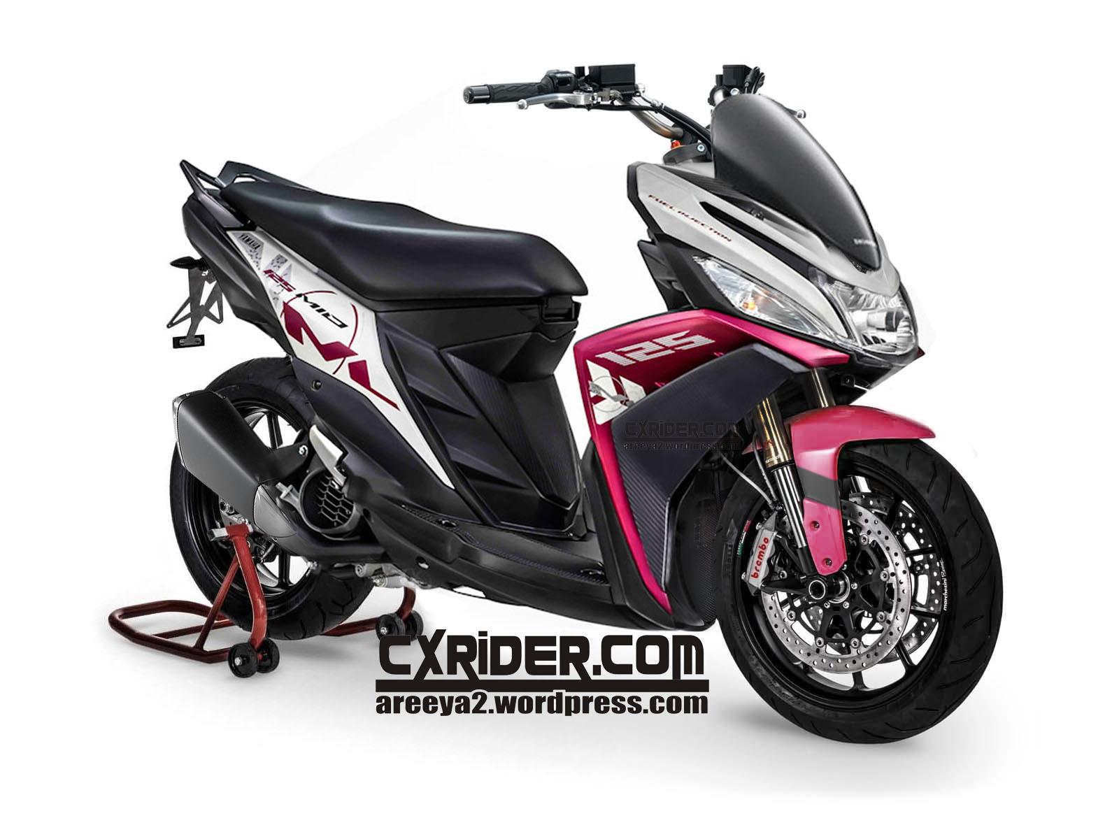 83 Modifikasi Motor Yamaha Mio M3 125 Terlengkap Ketoprak Motor