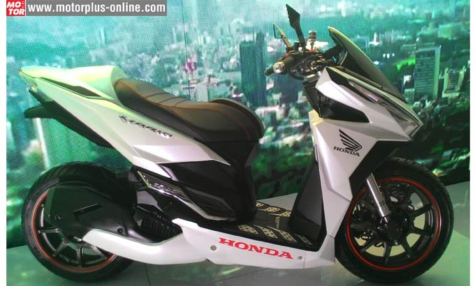 Modifikasi Honda All new Vario 150 esp Touring ala AHM