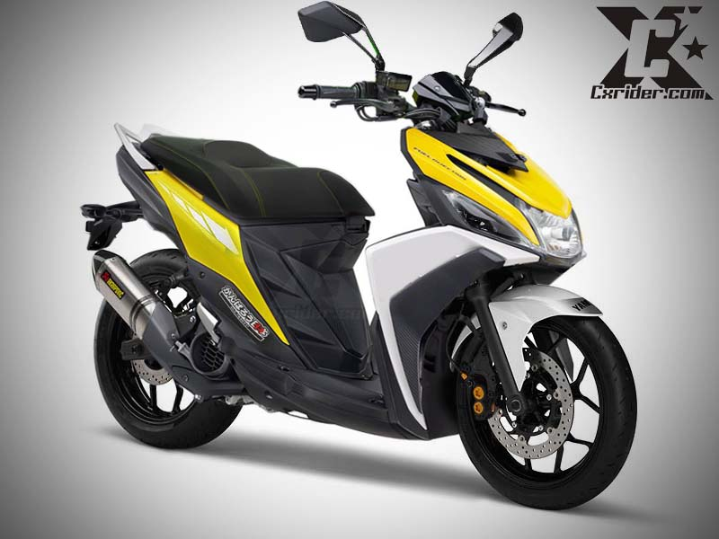 Konsep Modifikasi Yamaha Mio M3, Simple Maticfighter