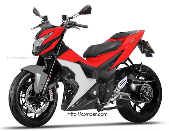 Cxrider.com » Konsep Modifikasi Honda Sonic 150, Ayago