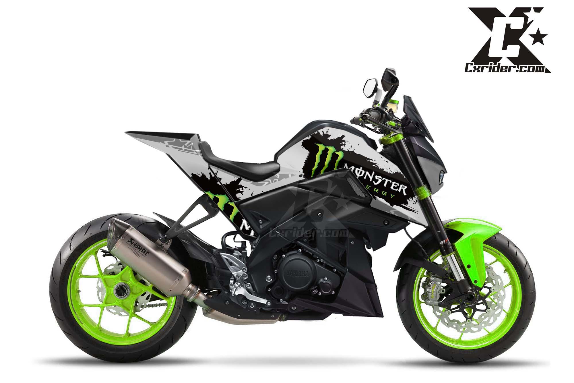 Yamaha MT 15 Facebook: Konsep Modifikasi Yamaha MT 15 M-Slaz Monster