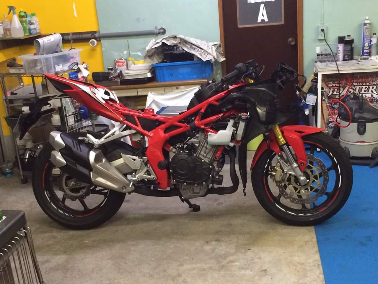 Kala Honda CBR 250RR Tanpa Fairing