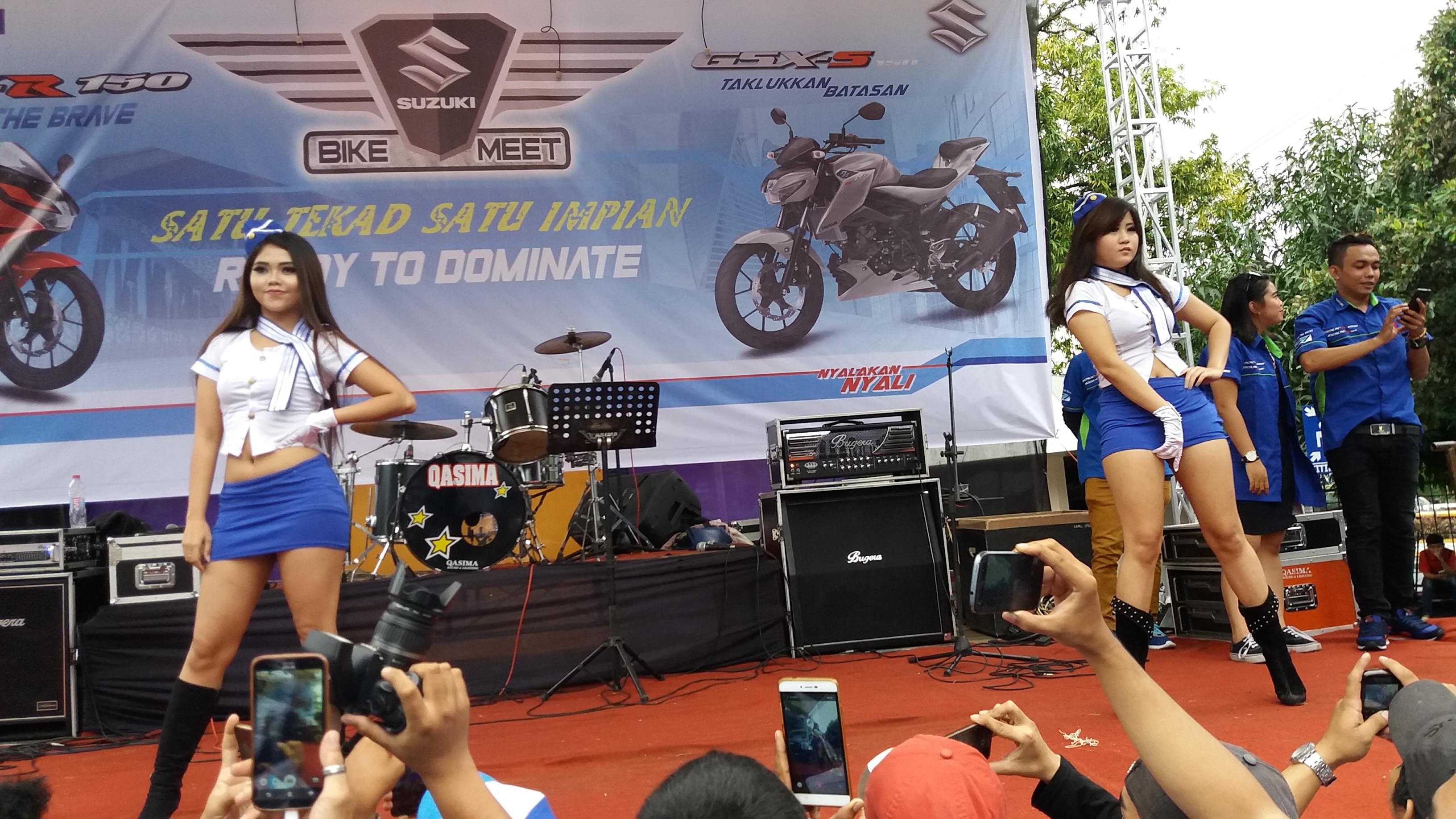 Suzuki Bike Meet Semarang 2017 Satu Tekad Satu Impian