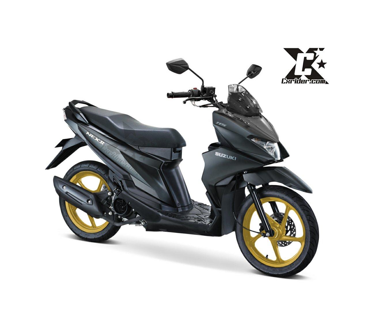 Modifikasi Suzuki Nex Ii Dengan Setang Trondol